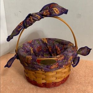 Longaberger Woven Memories Basket 2002
